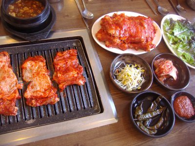 Korean Spread